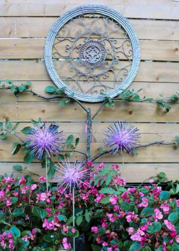 #DIY #garden #gardenart