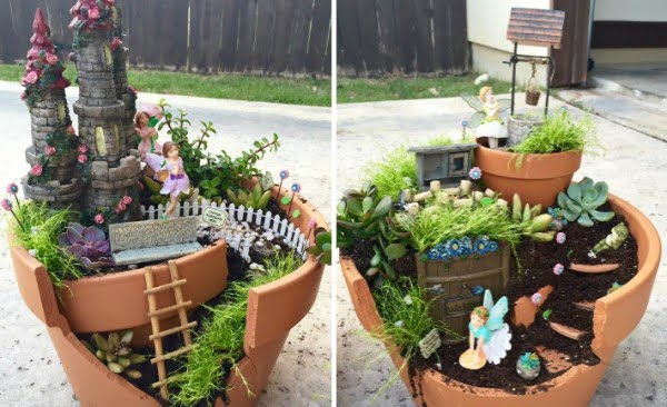 DIY: Make Your Own Fairy Garden   art