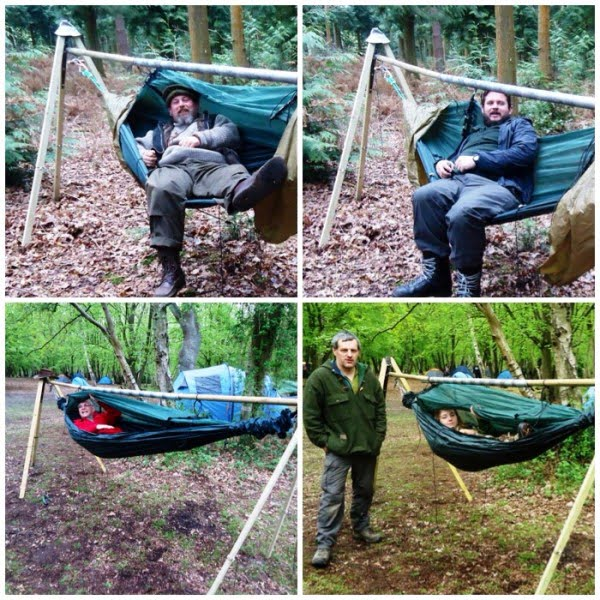How To…. Make a Free-Standing Hammock Stand