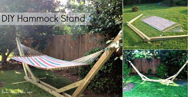 DIY Hammock Stand