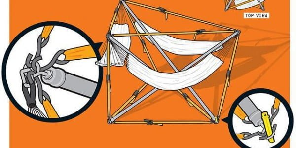 How to Build a Three -Person Hammock