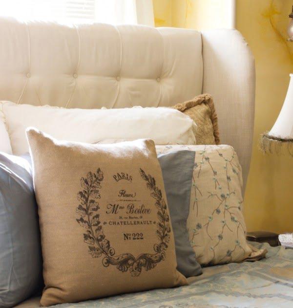DIY Tufted Headboard Tutorial with Ebook #diy #homedecor #bedroomdecor
