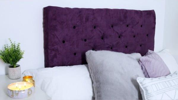 DIY Tufted Headboard #diy #homedecor #bedroomdecor