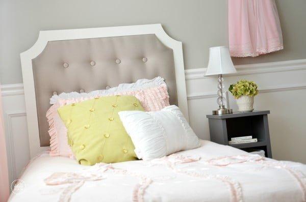 DIY Tufted Headboard - The Idea Room #diy #homedecor #bedroomdecor