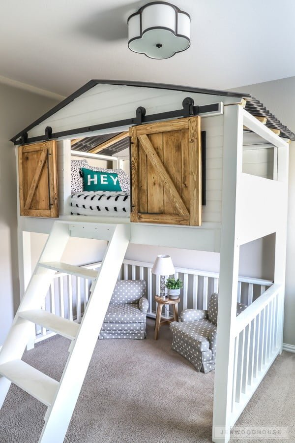 33 Easy Diy Loft Beds You Can Build On A Budget