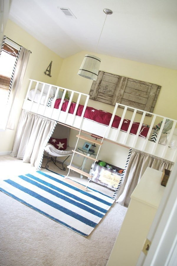 how to build a loft #DIY #furniture #bedroom #homedecor