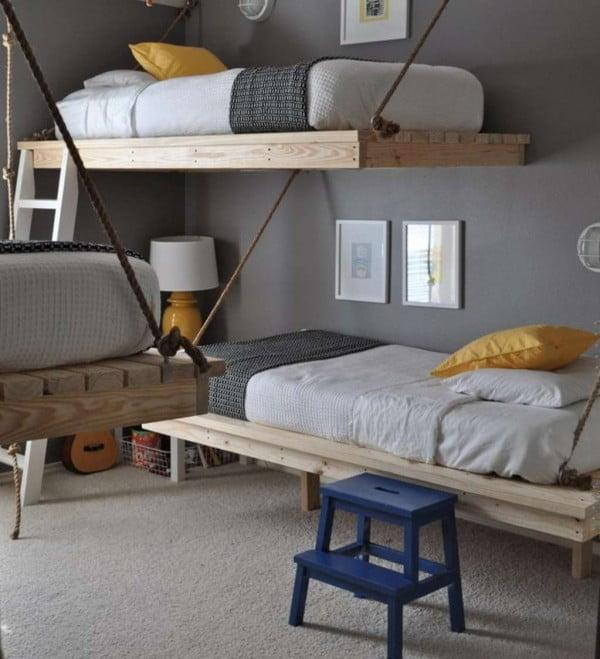 How To DIY a Loft Bed #DIY #furniture #bedroom #homedecor