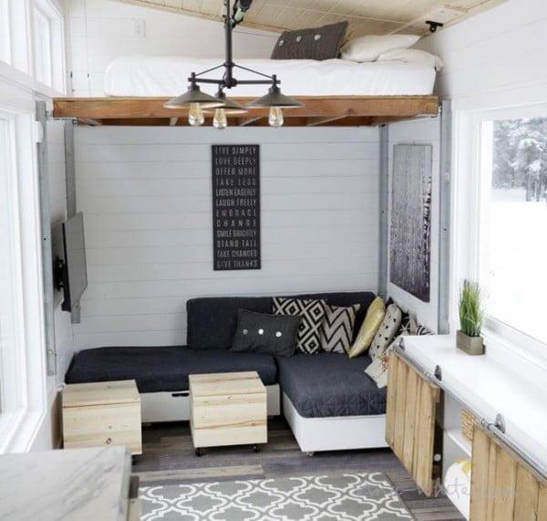 DIY Loft Bed #DIY #furniture #bedroom #homedecor