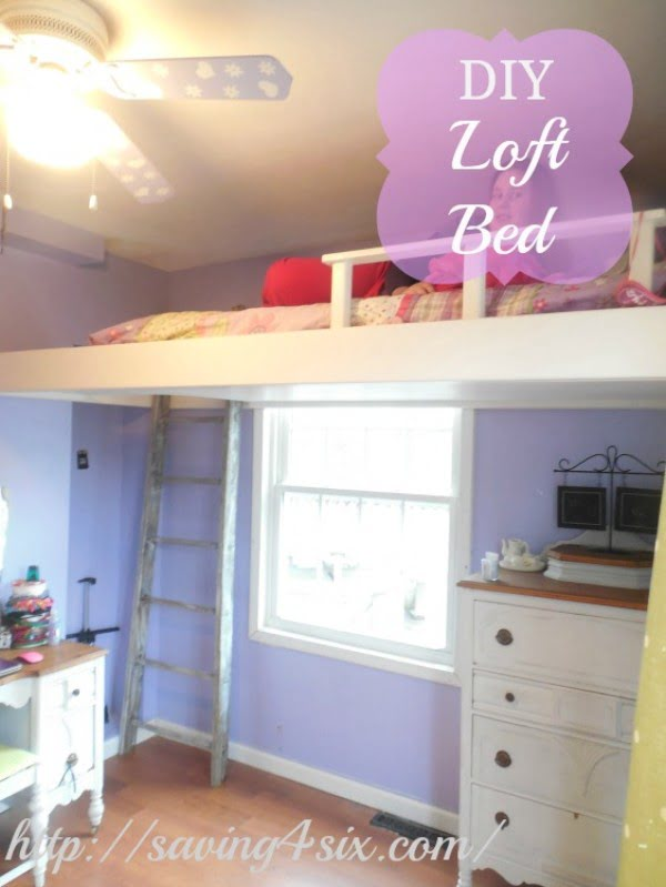 Space Saving DIY Loft Bed