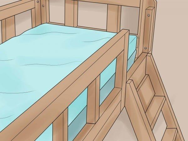 How to Build a Loft Bed #DIY #homedecor #furniture #bedroom