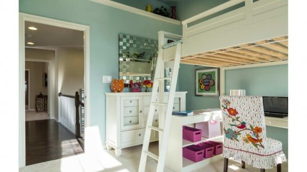 How to Build a Loft Bed in an Afternoon (and on the Cheap) #DIY #homedecor #furniture #bedroom