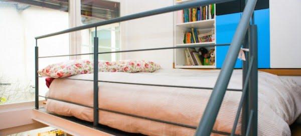 How to Make a Loft Bed #DIY #homedecor #furniture #bedroom