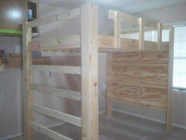 How To Build A Full Size Loft Bed