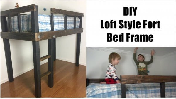 LOFT FORT BED FRAME