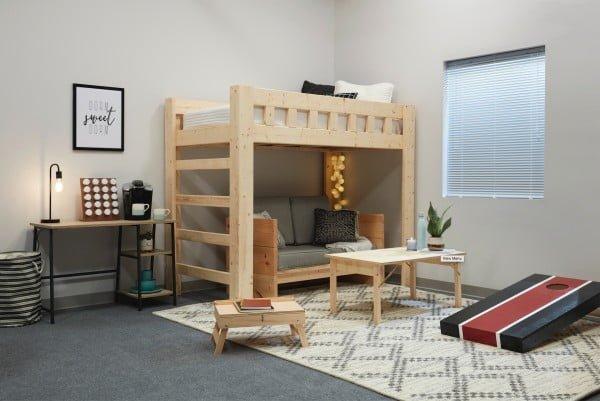 DIY LOFT BED #DIY #homedecor #furniture #bedroom
