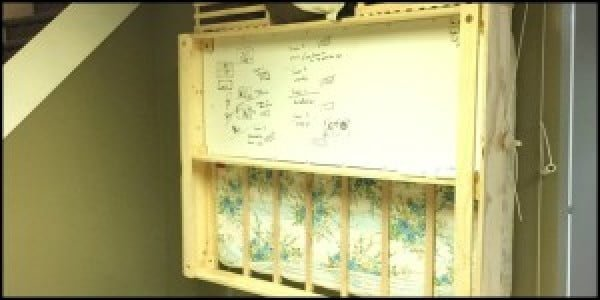 How To Make a Low Cost Murphy Bed #DIY #furniture #bedroomdecor #homedecor
