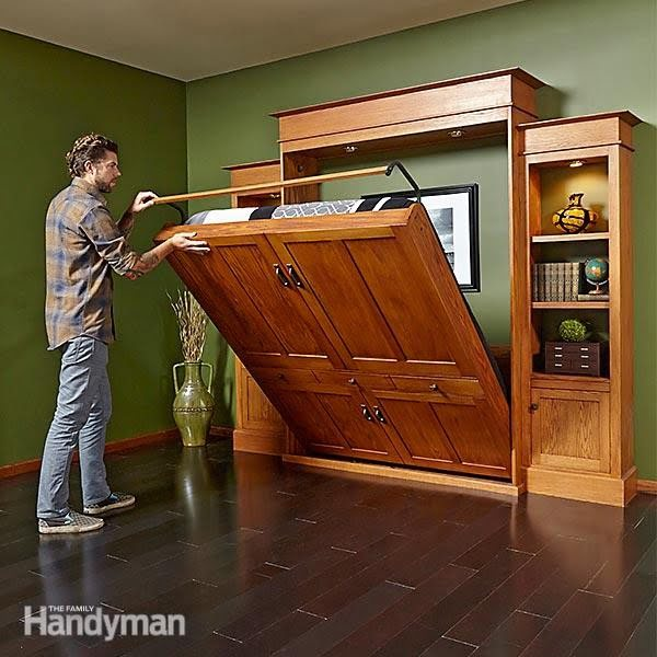 How to Build a Murphy Bed & Bookcase