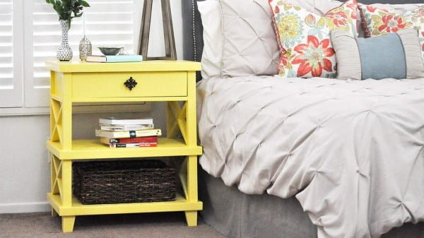 DIY Pottery Barn Inspired Nightstand