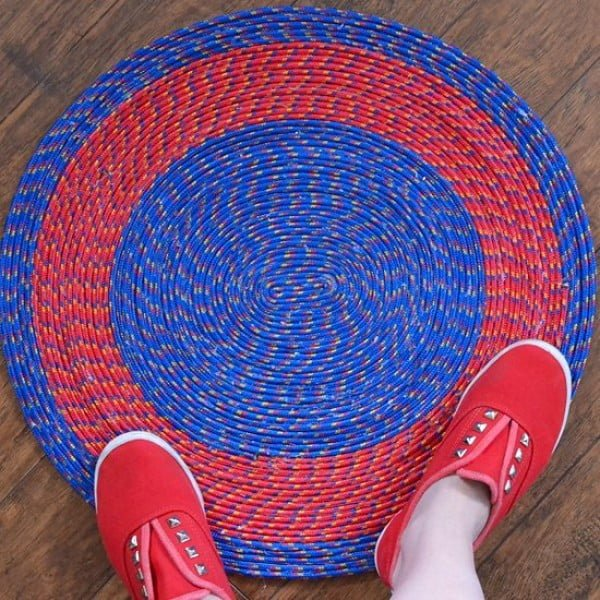 How-To: No Sew Rope Rugs | Make: