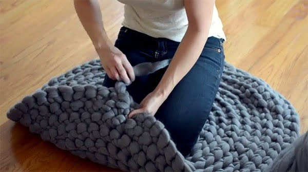 How to Crochet a Giant Circular Rug - No-Sew! - Expression Fiber Arts | A Positive Twist on Yarn