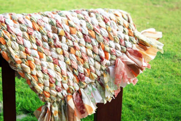 Woven Rag Rug - Recycle Craft | Craft Passion