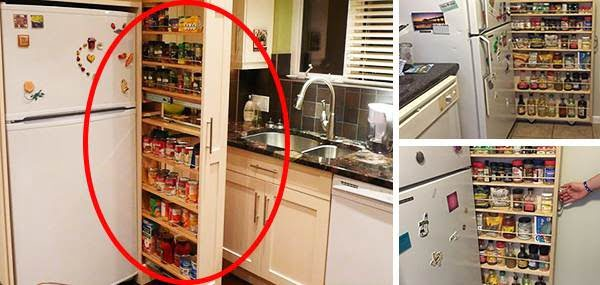 DIY: Hidden Kitchen Pantry