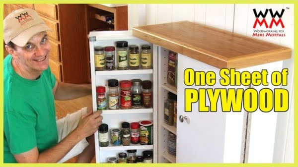 Saving Pantry from One Sheet of Plywood