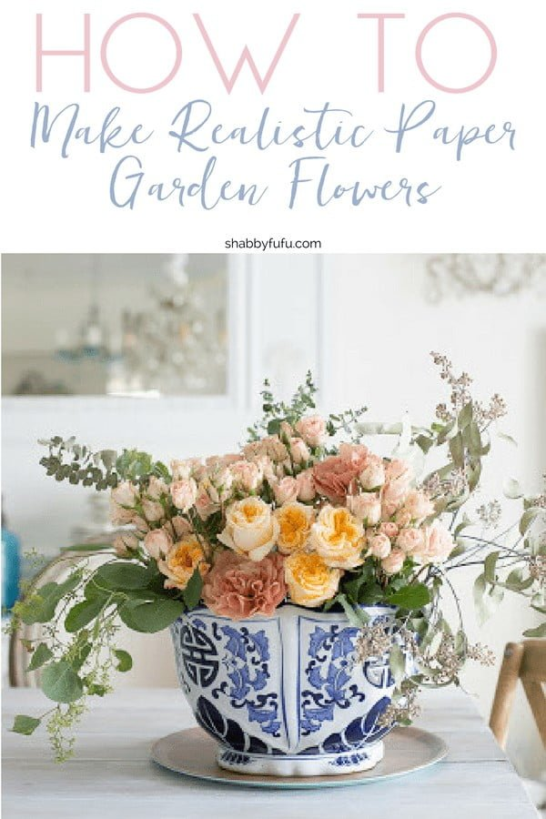 How To Make Realistic Paper Garden Flowers