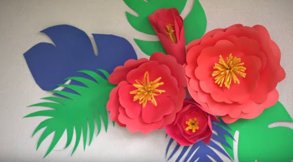 These DIY Paper Flowers Have So Many Possibilities. So Cute!