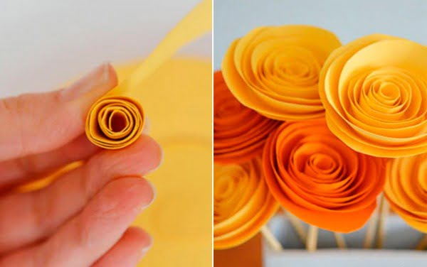 Paper Flower Craft to Make Your Home Feel Like Spring
