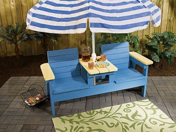 #DIY #patio #backyard #outdoors #furniture