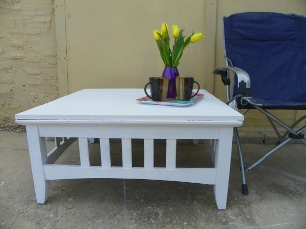 Patio Table #DIY #patio #outdoors #backyard #furniture