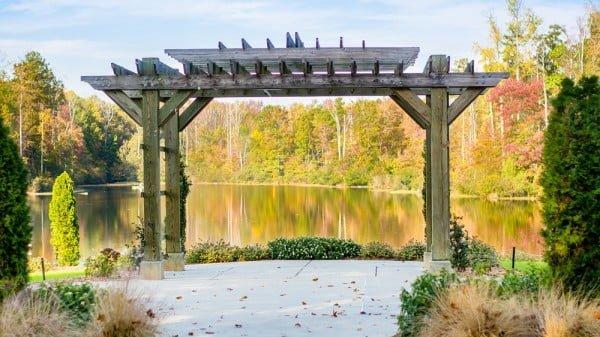 Constructing Wooden Garden Structure #DIY #garden #outdoors