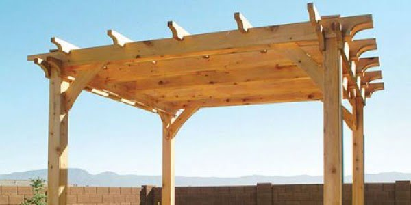 Pergola Plans:  How to Build Your Own Pergola