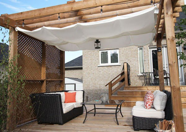 DIY: Retractable Pergola Canopy Tutorial