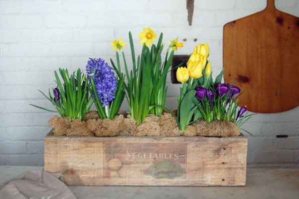 How to build a simple rustic planter box.