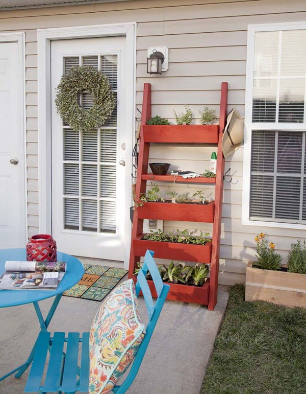 DIY Planter Box Ladder – The Home Depot Blog