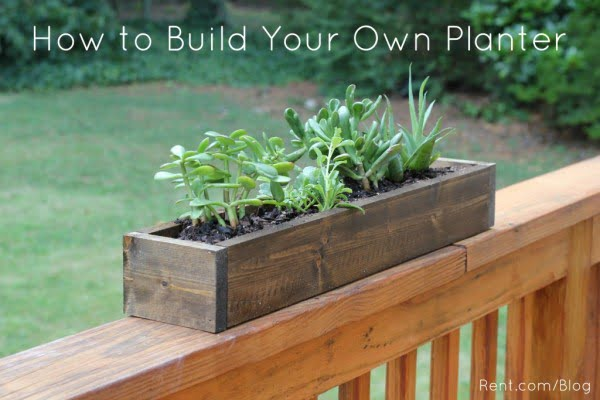 Apartment DIY: Build Your Own Planter Box   ing