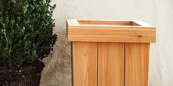 How to Build a Planter: Simple DIY Woodworking Project   ing