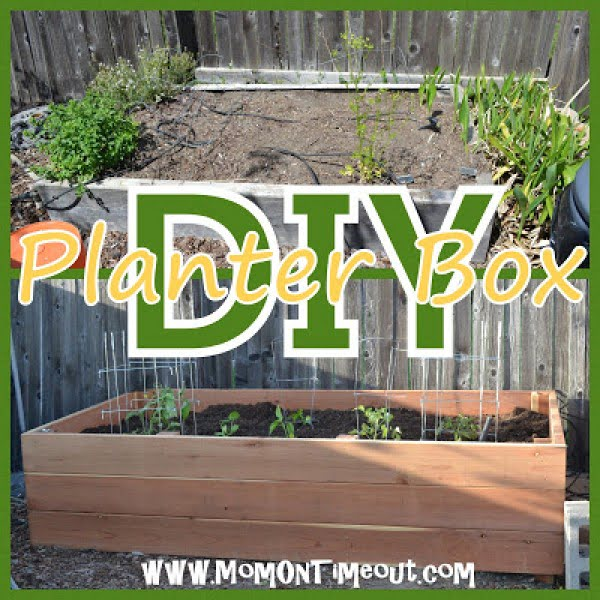 DIY Garden Planter Box Tutorial   ing