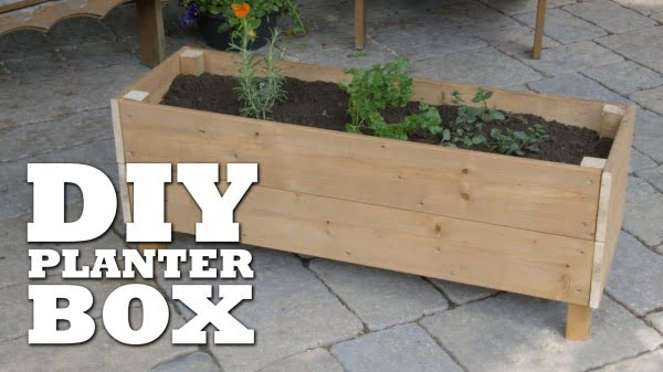 How To Build a Planter Box   ing