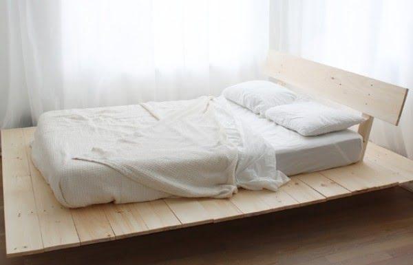 DIY Platform Bed - House One #diy #homedecor #bedroomdecor