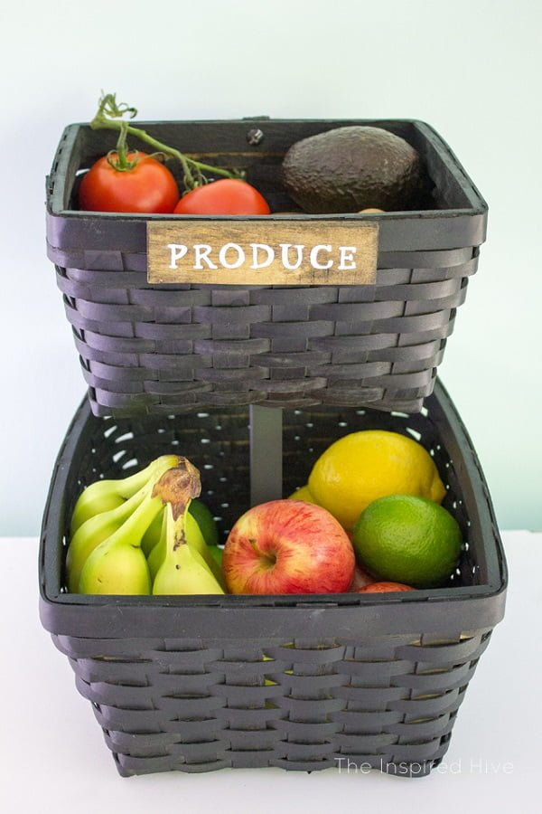 Make DIY produce storage baskets the easy way