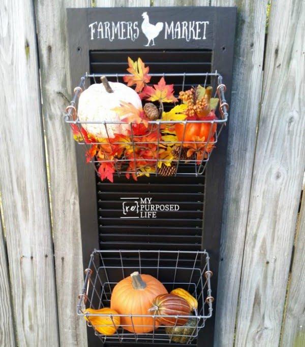 Farmer's Market #DIY #organize #kitchen #homedecor