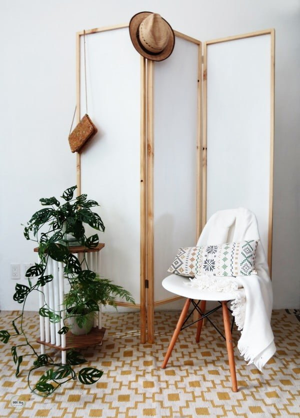 How to easily build a room divider - Ohoh Blog