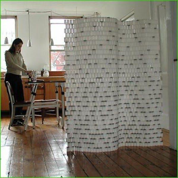 Lomography - DIY Film Canister Room Divider