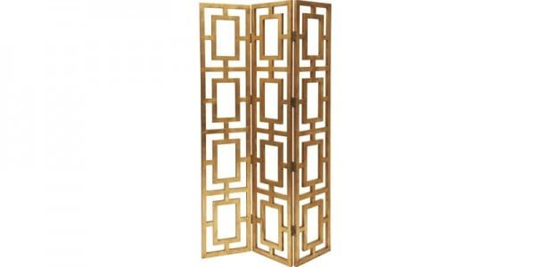 Remodelaholic | DIY Geometric Fretwork Screen
