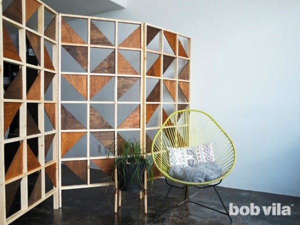 DIY Room Divider - Tutorial - Bob Vila