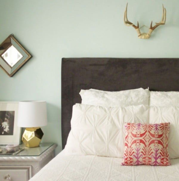 DIY Upholstered Headboard - The Everygirl