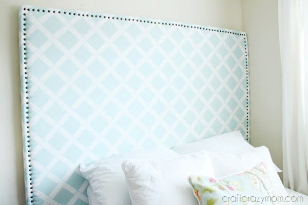 DIY Headboards with the nailhead trim